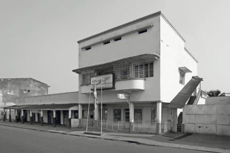 Bauhausstil: Bürogebäude Air Burundi, Bujumura Burundi, um 1940