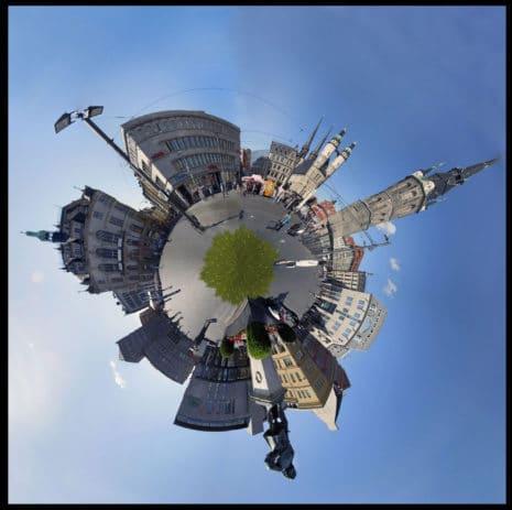 Kugelpanorama: Eine kleine Welt_H.-Joachim Schiemenz / pixelio.de