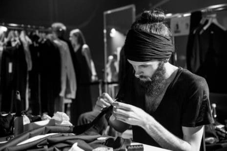 Krefelder Laufmasche: Florian Schulze Im Atelier