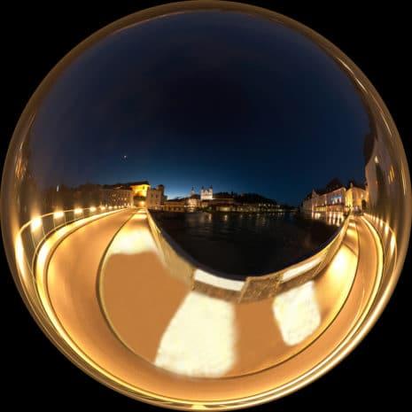 Kugelpanorama: Steyer Ennsbrücke_Bernhard Mayr / pixelio.de