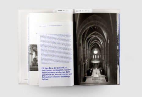 Innenseite der Publikation Officina Humana. (Foto: PT)