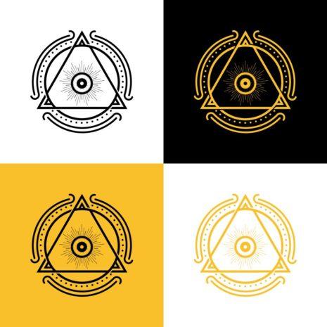 Dreieck-Logo