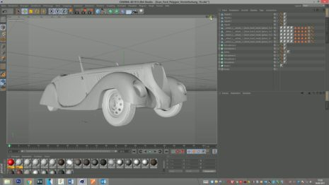 Ford Eifel 3D-Scan