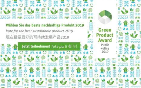 Green Product Award 2019: Nachhaltige Produkte auf dem Vormarsch