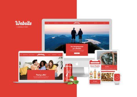 Website Almdudler
