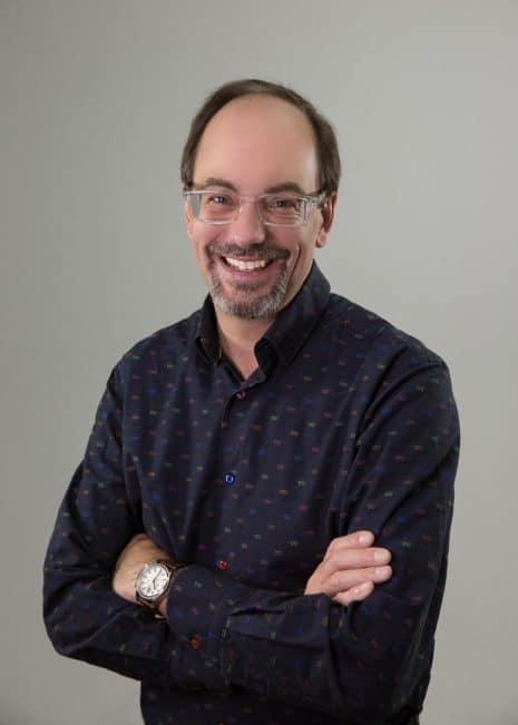 Schriftdesigner Tom Rickner