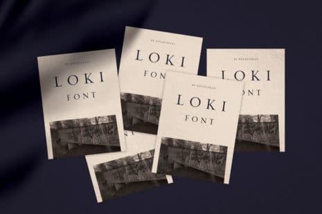 Loki – Sans Serif Brush