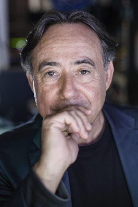 Roland Lambrette im Portrait. Aufgenommen am 12.09.2013 in Frankfurt.