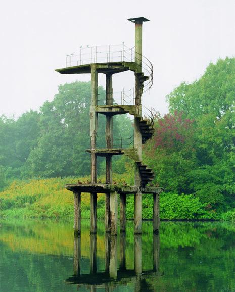 DIE GROSSE Boris Becker, Sprungturm Königsberg, 2005, 60x45cm, VG Bild-Kunst, Bonn