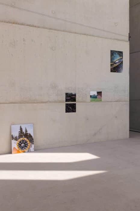 "Michael Paul Romstöck ""Hochs & Tiefs"", SANAA-Gebäude, 2019 Folkwang"