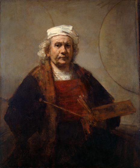 Rembrandt Harmensz van Rijn. Rembrandt. Die Selbstporträts
