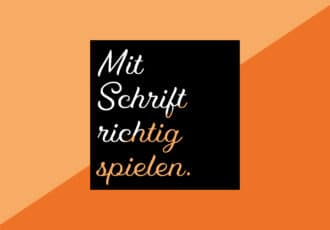 Typografie Teil 2