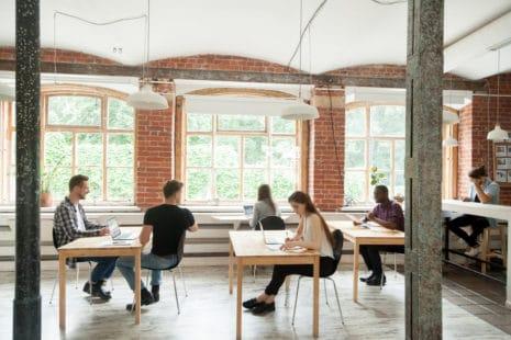 Modernes Coworking Space