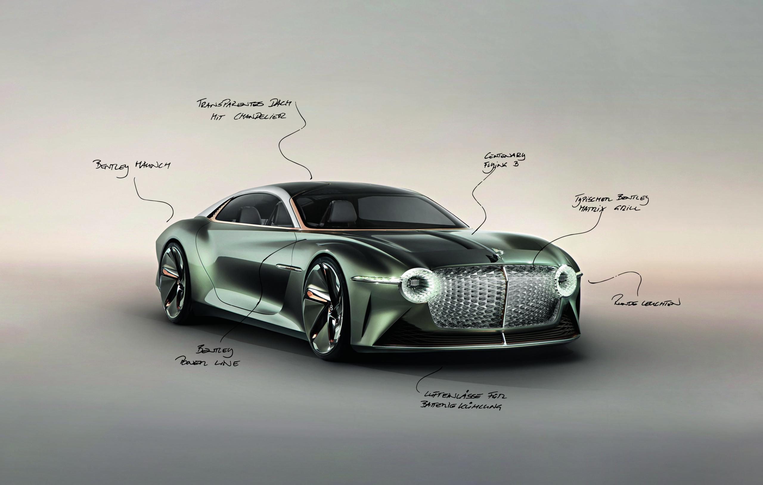 Die Formsprache von Bentley muss sich enorm weiterentwickeln