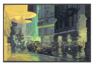 Downtown Cityscape / Blade Runner ©Syd Mead, 1981