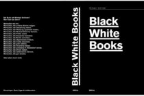 black white books