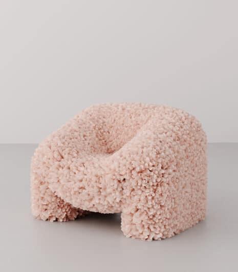 Andrés Reisinger (co-designer Júlia Esqué), Hortensia Chair, 2018-2019 © Andrés Reisinger & Júlia Esqué