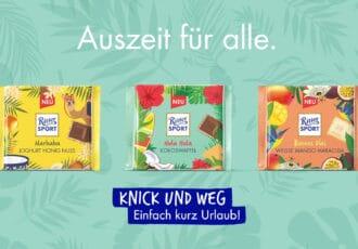 Ritter Sport Fernweh Edition