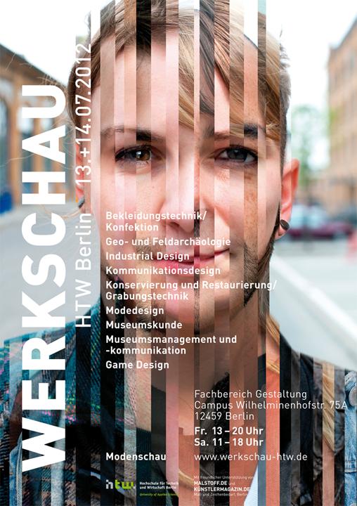 Design - Werkschau HTW 2012