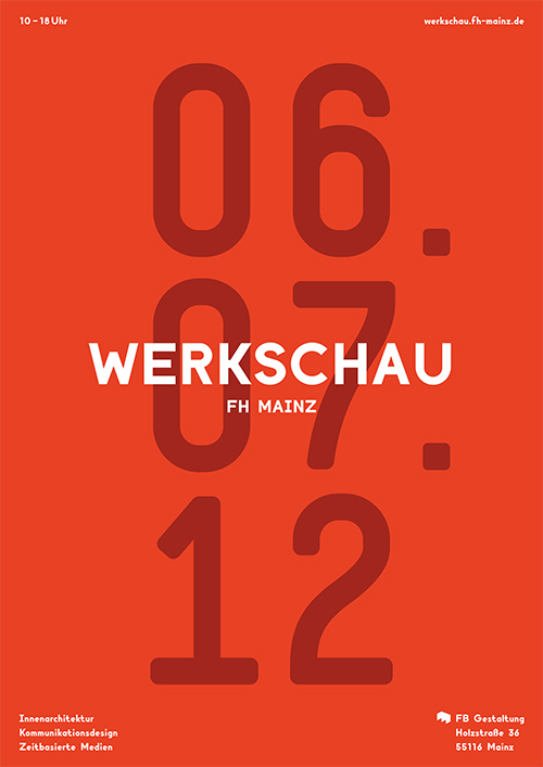 Design - Werkschau FH Mainz 2012
