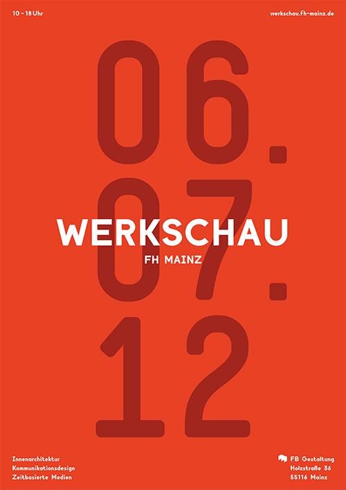 Design - Werkschau FH Mainz 2012