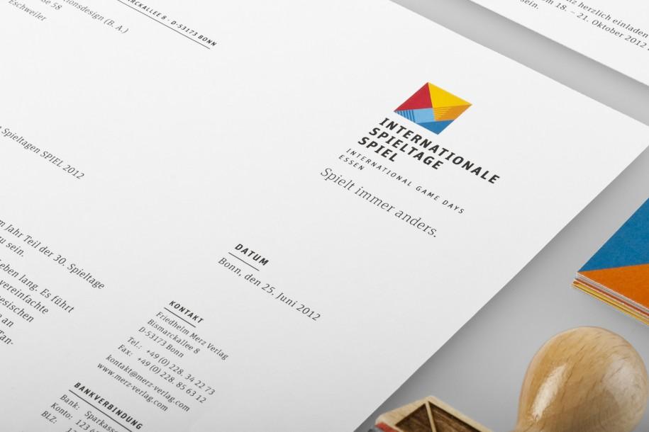 Internationale Spieltage Spiel - Corporate Design